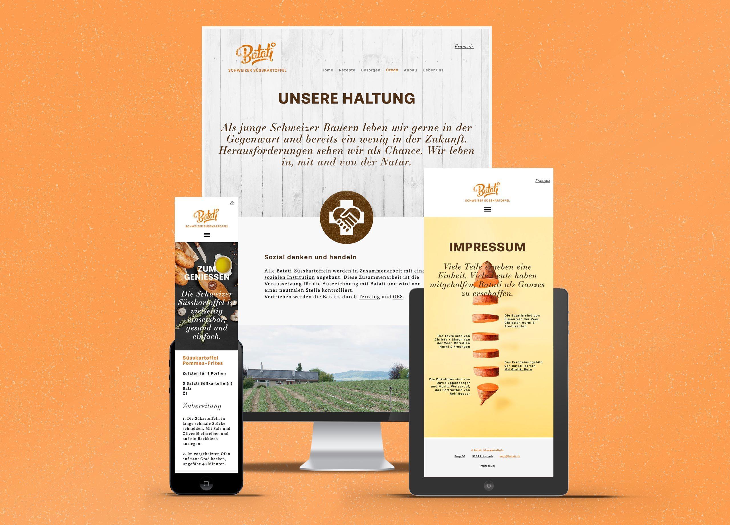 Batati Web MHG Bern