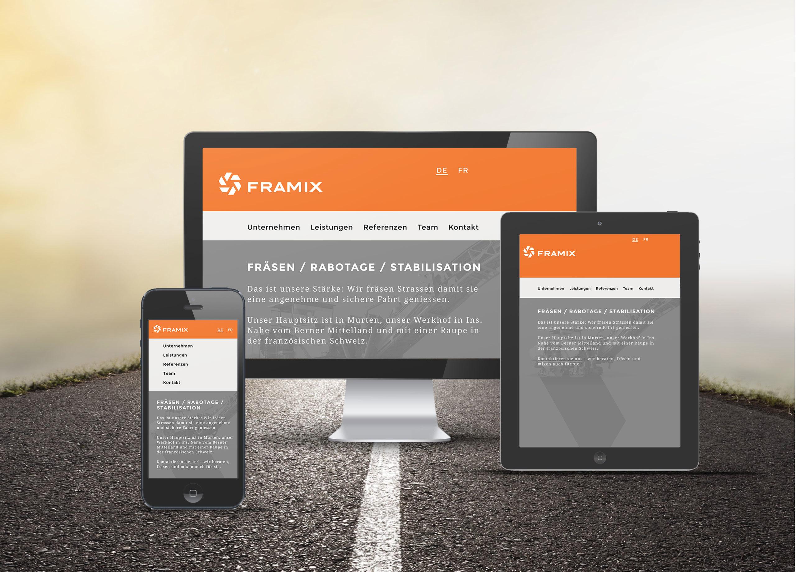 Framix Web MHG Bern