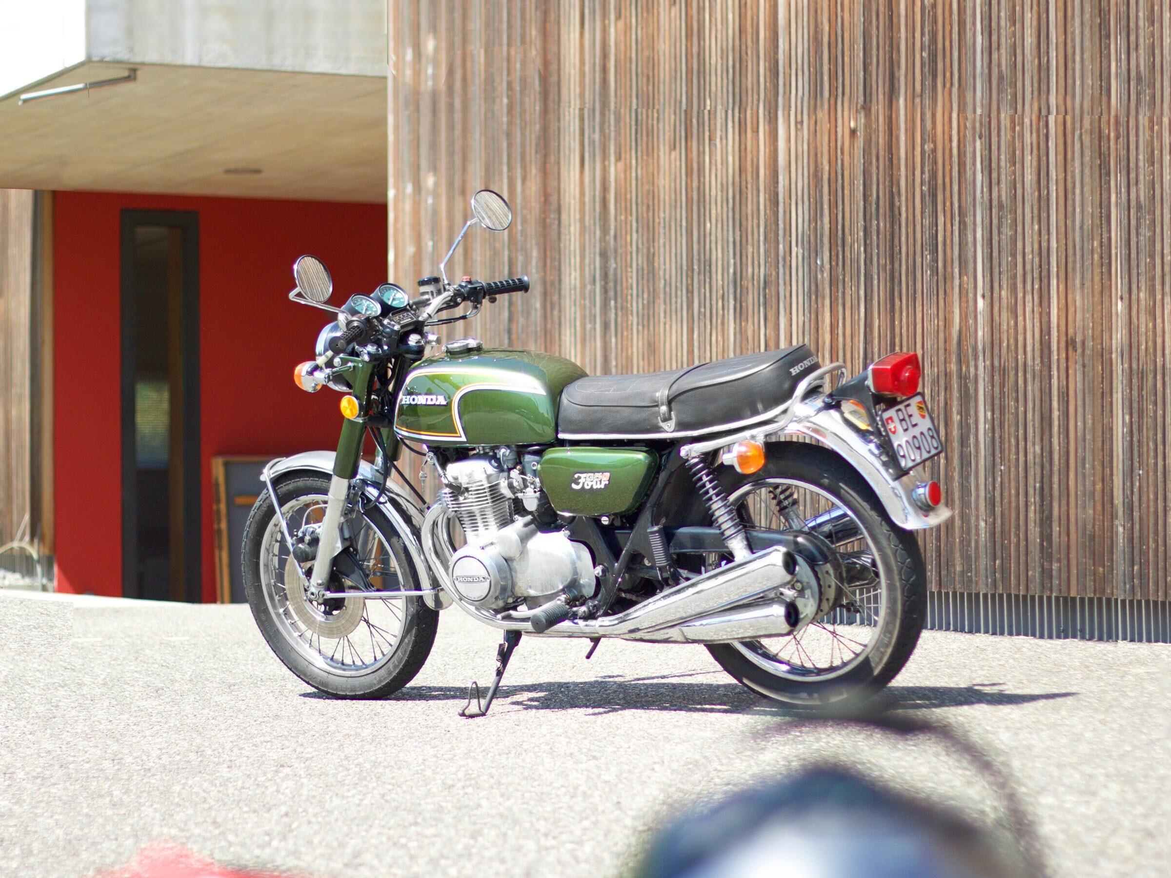 Hoshi Bikes Cb350 Four Bern MHG Bern