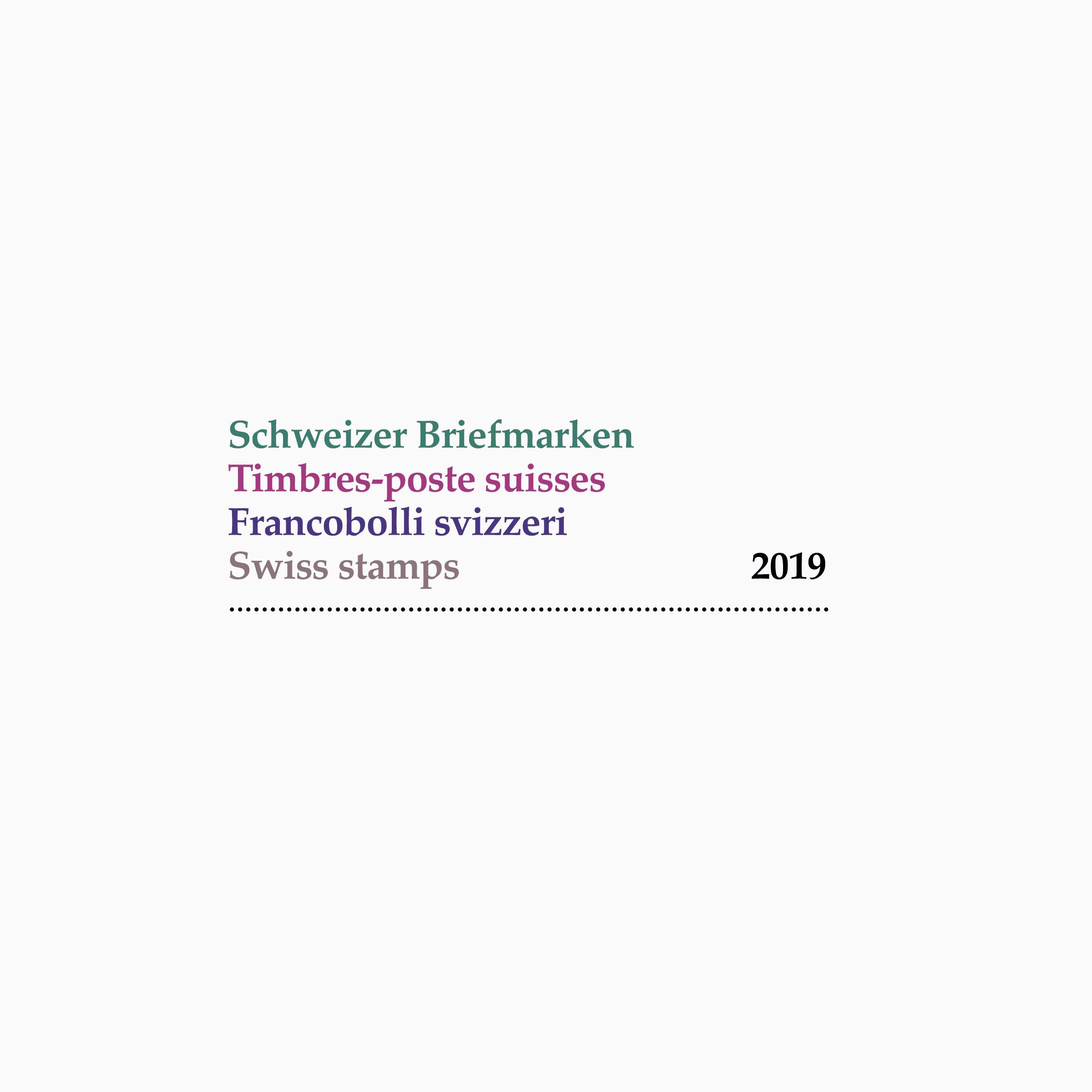 Schweizer Briefmarken 2019 00 MHG Bern
