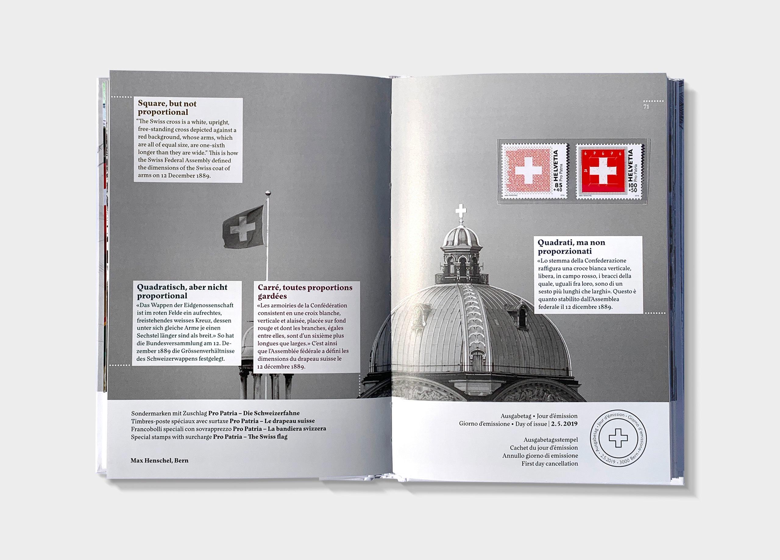 Schweizer Briefmarken 2019 03 MHG Bern