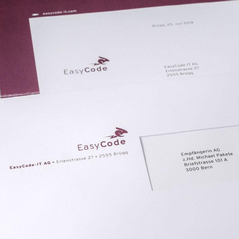 Easycode Briefschaften 0 MHG Bern