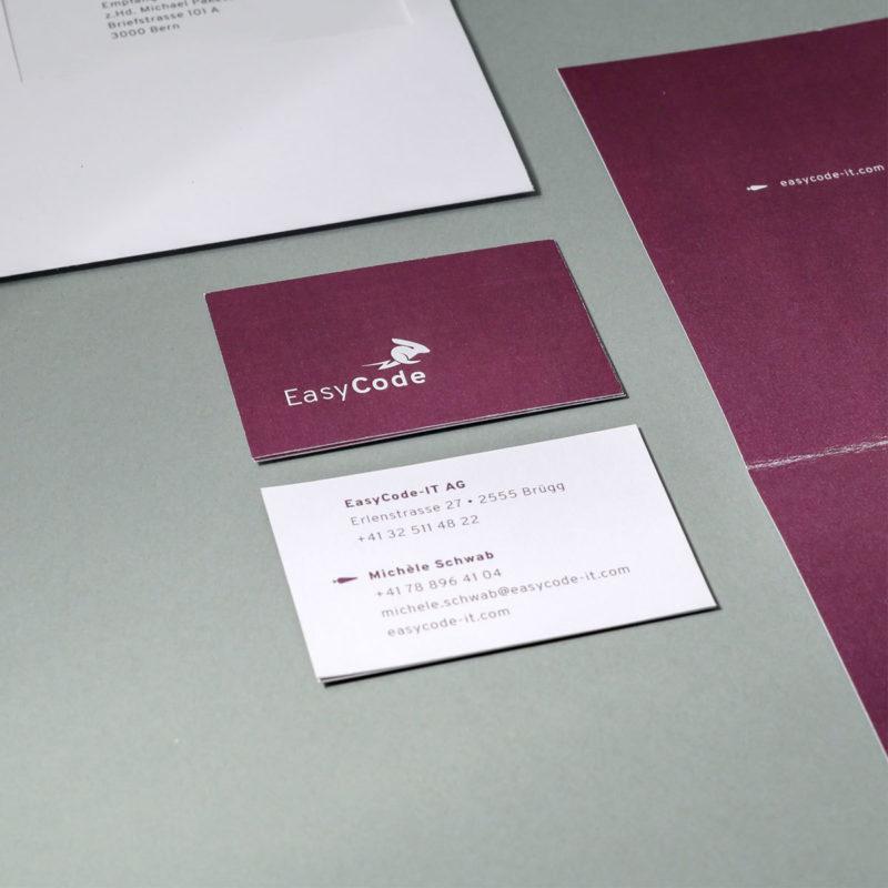 Easycode Briefschaften 02 MHG Bern