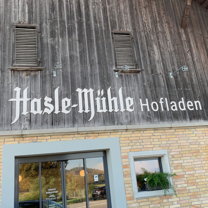 Hasle Muehle Beschriftung 01 MHG Bern