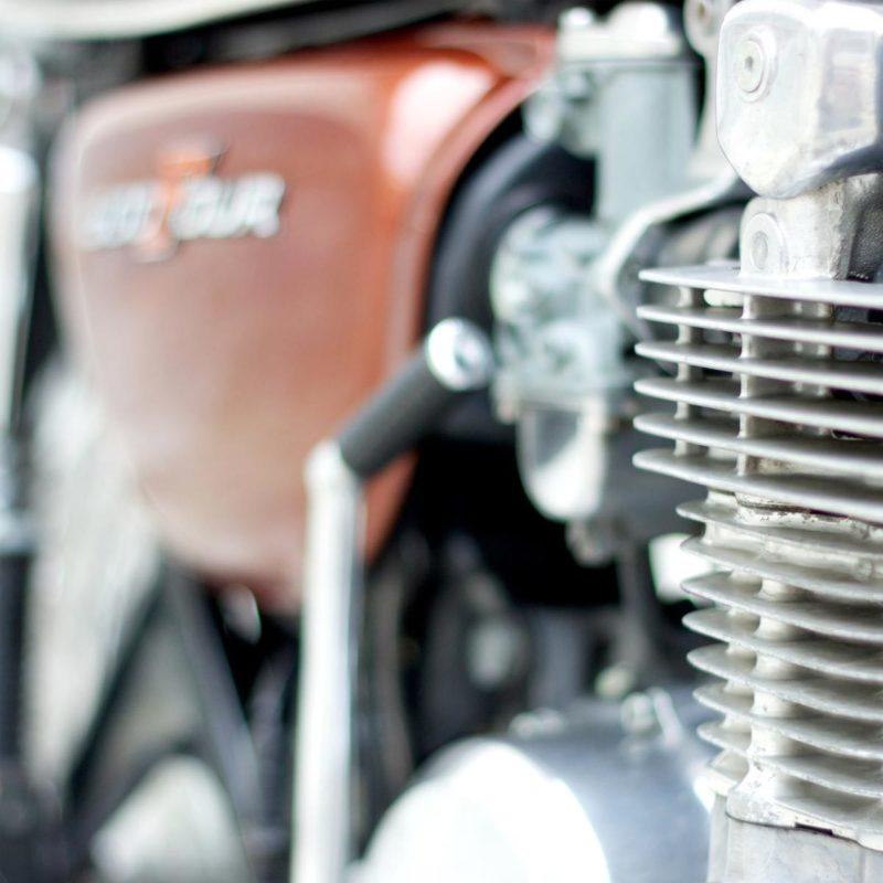Hoshi Bike Honda Cb 500 Four Detail MHG Bern