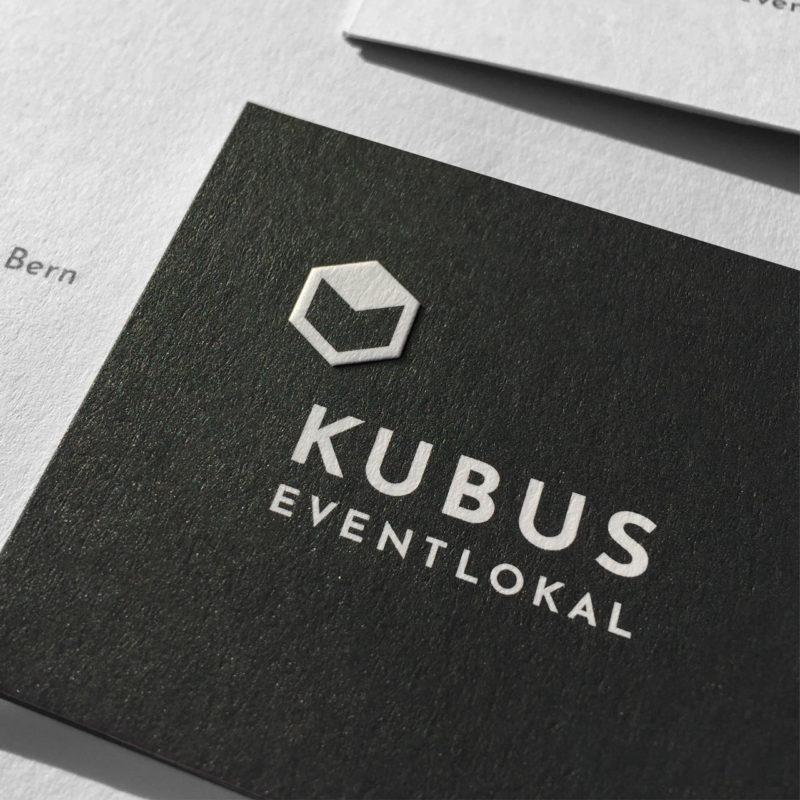 Kubus Eventlokal Branding Briefschaft Detail 01 MHG Bern