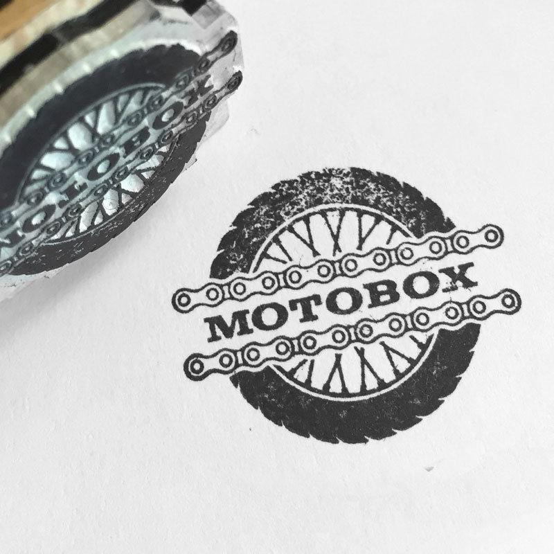 Moto Box Stamp MHG Bern