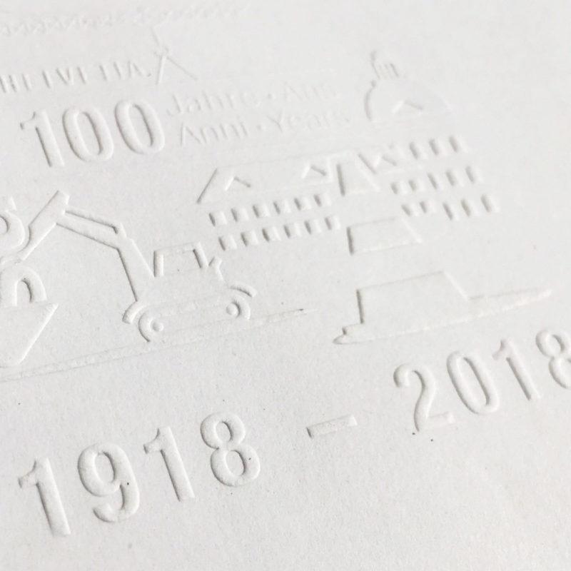 Post Suva 100 Jahre Couvert MHG Bern