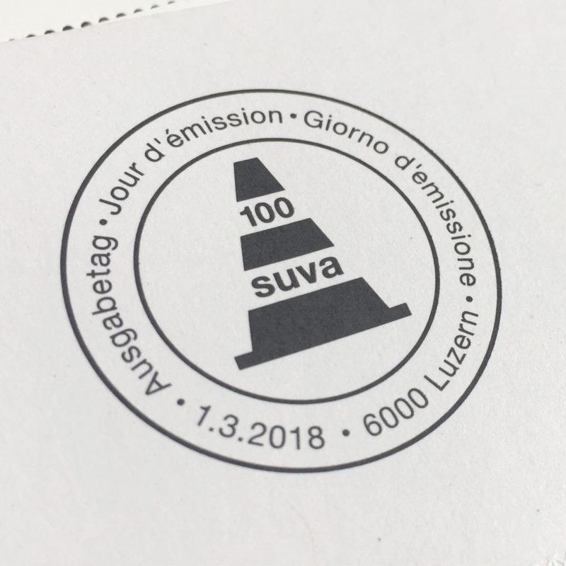 Post Suva 100 Jahre Stempel MHG Bern