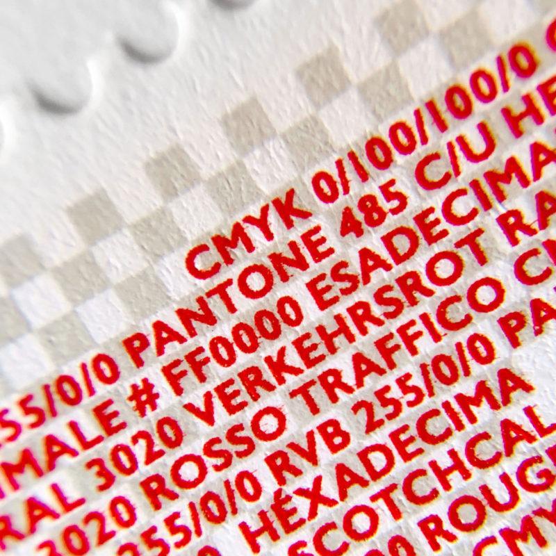 Propatria Briefmarke Schweizer Flagge 081 MHG Bern