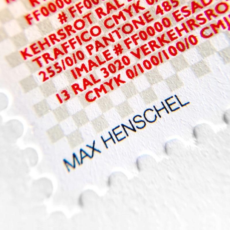 Propatria Briefmarke Schweizer Flagge 09 MHG Bern