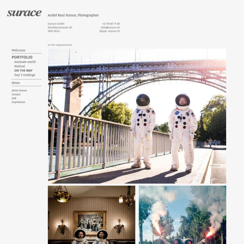 Surace Web 03 MHG Bern