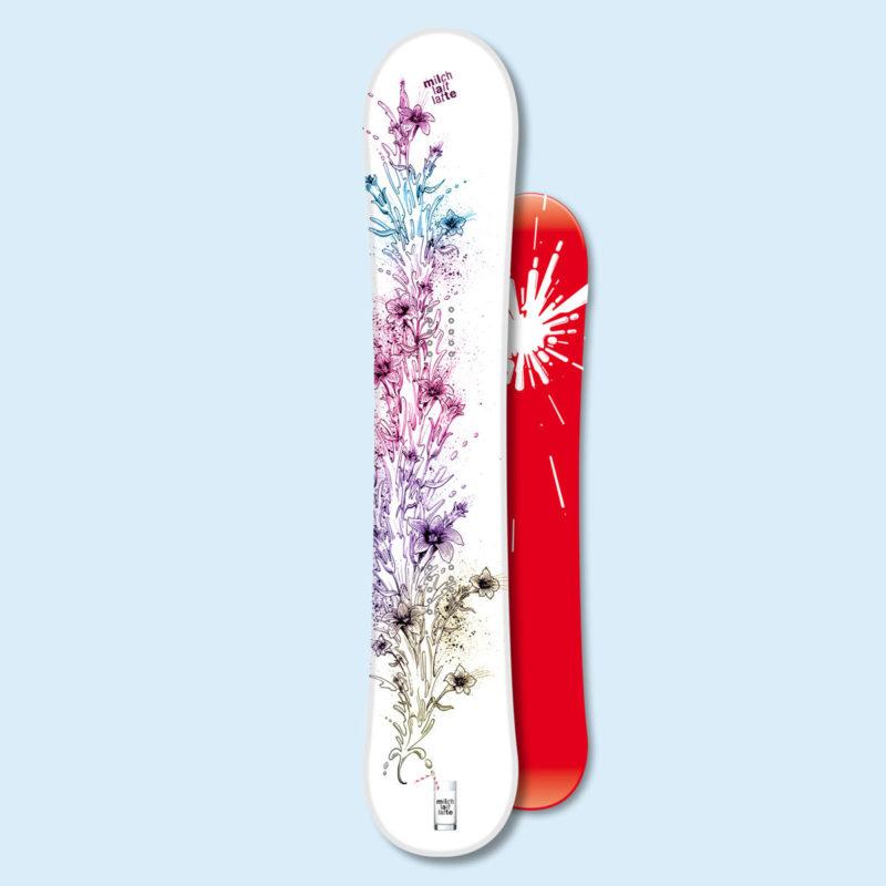 Swissmilk Snowboard Enzian MHG Bern