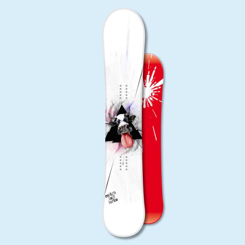 Swissmilk Snowboard Lovely MHG Bern
