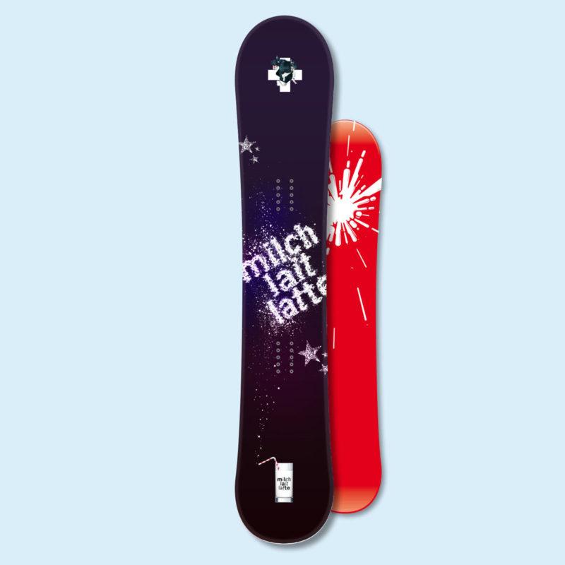 Swissmilk Snowboard Milchstrasse MHG Bern