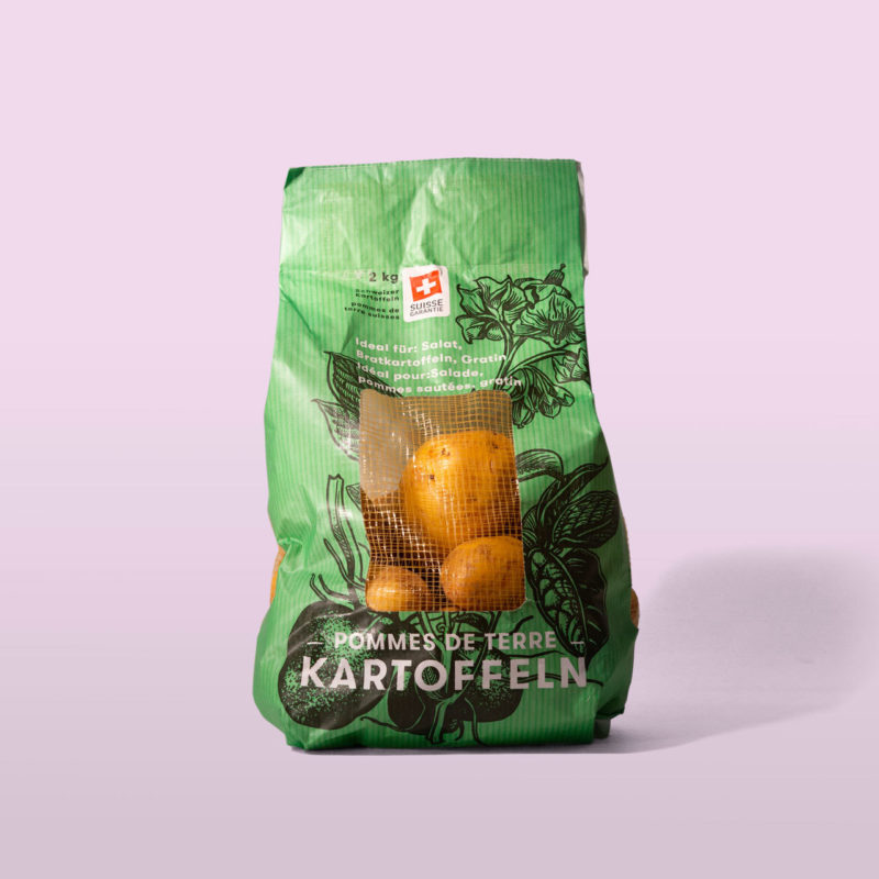 Volg Kartoffeln Packaging Design 005 2 MHG Bern
