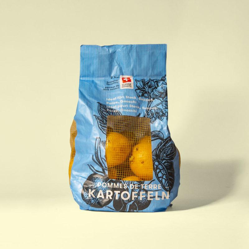 Volg Kartoffeln Packaging Design 005 MHG Bern