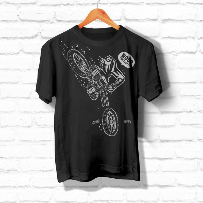 Woop Prod Illustration Biker Shirt MHG Bern